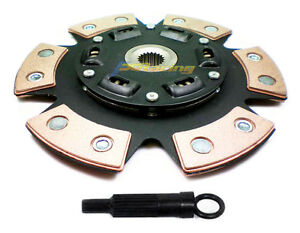 FX 6-PUCK STAGE 3 RACE CLUTCH DISC & ALIGNMENT TOOL 215mm for HYUNDAI MITSUBISHI