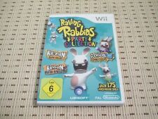 Raving rabbids party collection pour nintendo wii et wii u * OVP *