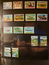 Dominica Aircraft & Aviation Stamps Lot of 34 - MNH - See Details for List