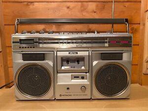 Hitachi TRK-8300E FM/SW/MW/LW Stereo Radio Cassette Recorder
