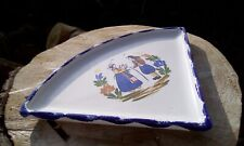 Breton ceramic crepe serving dish