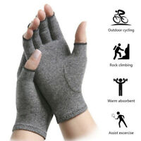 Medical Anti Arthritis Compression Therapy Gloves Hand Support Rheumatoid Pain
