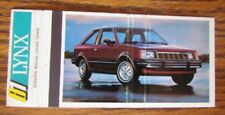 1981 FORD LYNX CAR DEALER: LAVOIE MERCURY (STE-MARTINE, QUEBEC) -K9