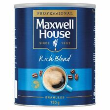 Maxwell House instant Coffee instant Granules Rich Blend Tin 750g-Tracked serv