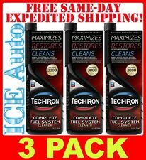 3 PACK - Chevron 65740-CASE 20 oz Techron Concentrate Plus Fuel System Cleaner