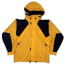 HELLY HANSEN WATERPROOF BREATHABLE 3M THINSULATE YELLOW SAILING JACKET MEN L