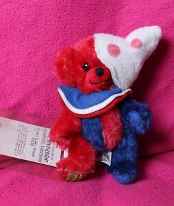 """Merrythought Mohair Cheeky Bear """"Clowns Around"""" 6"""""""