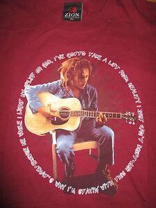 "Vintage 1998 BOB MARLEY ""Excuse Me while I Light My Spliff Oh GOD"" (XL) T-Shirt"