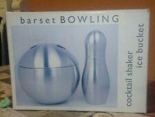 """Edelstahl Cocktail Shaker """"Bowling""""  Cocktailset  0,5l NEU"""