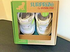 Surprize By Stride Rite : Boys Toddler White / Jack Sneaker Size 6-12 Months