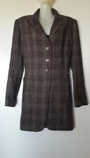 ARMAND VENTILO COAT FROCK COAT WOOL FR42/44, EU40/42 VAL EUR CHOCOLATE