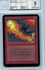 MTG Alpha Red Elemental Blast BGS 9.0 Mint card Magic the Gathering WOTC 2836