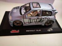 Renault Clio Silber 1:32 Schuco Tuners -junior line Länge 12,3 cm, unbespielt