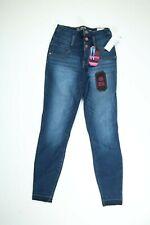 No Boundaries NOBO High Rise Super Slimming/Sculpting Fit Skinny Blue Jeans NEW!