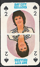 Monty Gum 1970's Gum Card - The Bay City Rollers Music Card - Two of Spades