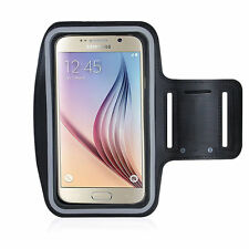 Running High Quality Adjustable Neoprene Armband Tie Samsung Galaxy S6 Black