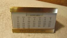 Vintage Reynolds Aluminum Perpetual Calendar