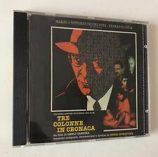 CD ENNIO MORRICONE OST TRE COLONNE IN CRONACA UN FILM DI CARLO VANZINA PHILIPS