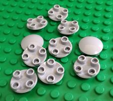 NEW / LEGO / 10 Med Grey Parts / Slide Shoe Round 2x2 Disk / 4278273 / 2654