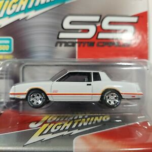 Chevrolet Monte Carlo SS Johnny Lightning DIECAST 1 Of 2500 With Storage Tin