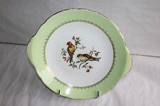 """Un plat de service vintage faïence Lunéville KG décor """" oiseaux """" 29 cm"""