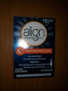 Align Probiotic Restorative Sleep 21 caps EXP 12/2021