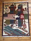 •172• 9/11 Themed Afghan War Rug 78x61cm