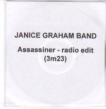 (DD843) Janice Graham Band, Assassiner - 2012 DJ CD