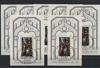 7 x Bund Block Nr. 15 gestempelt Ersttagsstempel BRD 955 ESST Weihnachten used