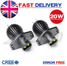 BMW E90 E91 20W CREE OEM Angel Eye Light Halo Ring Upgrade Bulbs