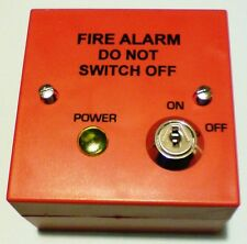 Fire Alarm Fused Spur Mains Isolation Key Switch  BS5839: £18.75 + VAT FREE P&P!