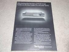 Technics ST-9030 Super Tuner Ad,1978, Article, Specs