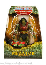 MEGATOR 1ST ISSUE FIGURE MASTERS OF THE UNIVERSE CLASSICS MOTUC