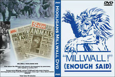 DVD MILLWALL HOOLIGANS DOCUMENTARY (BUSHWACKERS,THE DEN,CASUALS,LONDON,HOOLS)