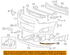 Chevrolet GM OEM Front Bumper Grille Grill-Lower Deflector Spacer Right 96695219