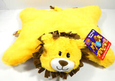 FlipaZoo Flip N Play Friends 2 in 1 Monkey and Lion Pillow Plush Toy