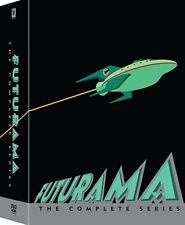 Futurama:The Complete TV Series Collection(DVD,2017,23-Disc Set,Seasons 1-8)NEW