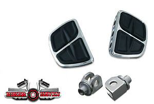 Kuryakyn Rear / Passenger Mini Floor Board & Adapter KIT Honda 600 VLX