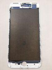 iPhone 7 Plus Glas Scheibe inkl. Rahmen / cold press frame weiß white