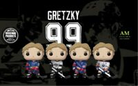 FUNKO POP NHL HOCKEY - WAYNE GRETZKY - 4er PACK - BLUES, KINGS, RANGERS, OILERS