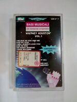 MC BASI MUSICALI IN TONALITA ORIGINALE WHITNEY HOUSTON VOL 1  MUSICASSETTA MC K7