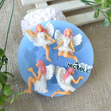 Fairy Silicone Fondant Soap Molds Gum Paste Mold Polymer Clay Craft Jewelry