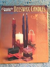 "NOS ""CREATIVITY KITS BEESWAX CANDLES"""
