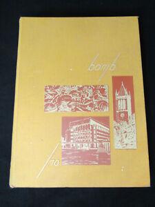Iowa State University Bomb Yearbook 1970 Annual Volume 77 ISU Cyclones