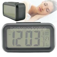 LED Control Backlight Time Luminous Calendar Thermometer AAA S Dital Alarm Clock