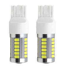 2X Strobe Flash Bulb T20 7443 33SMD LED Car Turn Signal Fog Lamps Brake Reverse