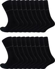 NEU-6-18 Paar Pierre Cardin Business Socks Herren Socken Schwarz Sonderangebot