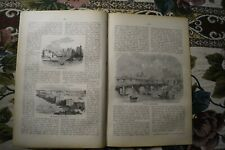 1880 neue Welt 16 Schnorr von Karolsfeld London Bridge Lambeth Palace Merte