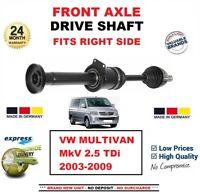 Pour VW Multivan V 2.5 Tdi 2003-2009 Tout Neuf Essieu avant Droit Main Lecteur
