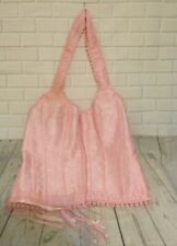 Pink Large  Lace Up Bustier Steampunk Gothic Halter Neck Corset